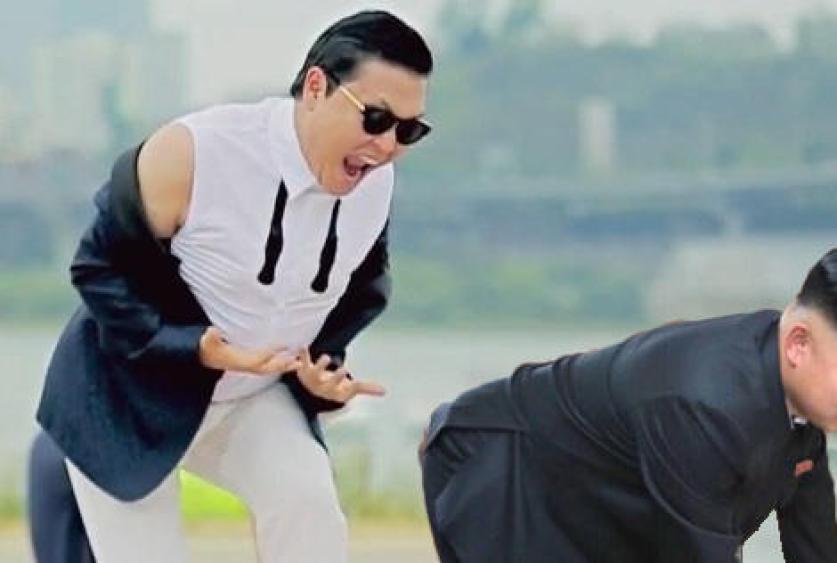 Gangnam Ass | Kim Jong Un Bent Over | Know Your Meme
