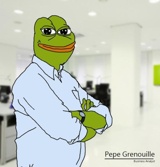Executivesuite Pepe Inc Smug Frog Know Your Meme
