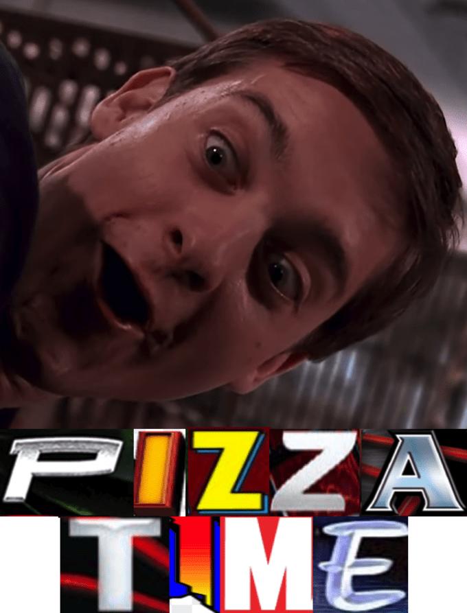 Pizza Time Spiderman Meme : pizza, spiderman, Pizza