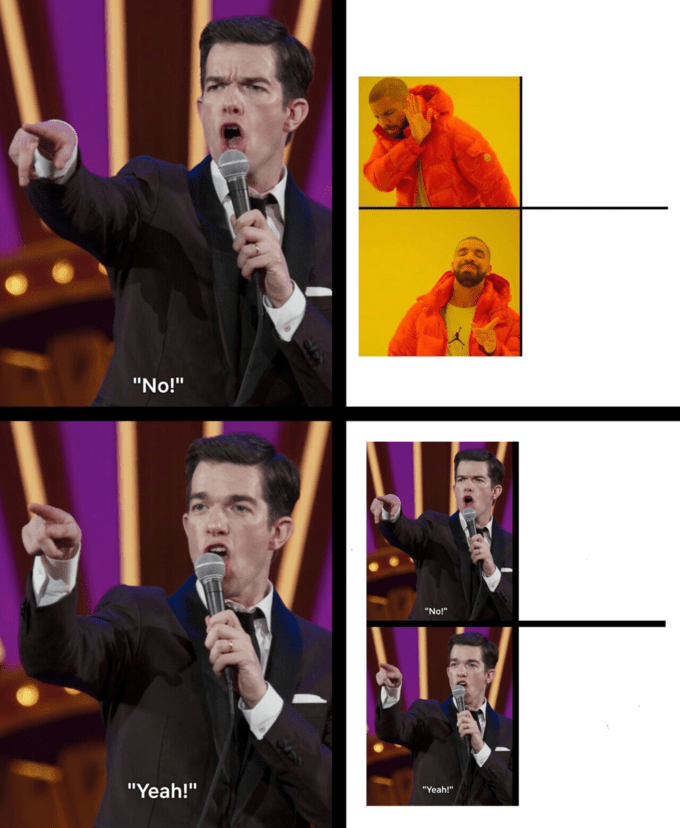 Yes No Meme Template : template, Creation:, Mulaney, Template