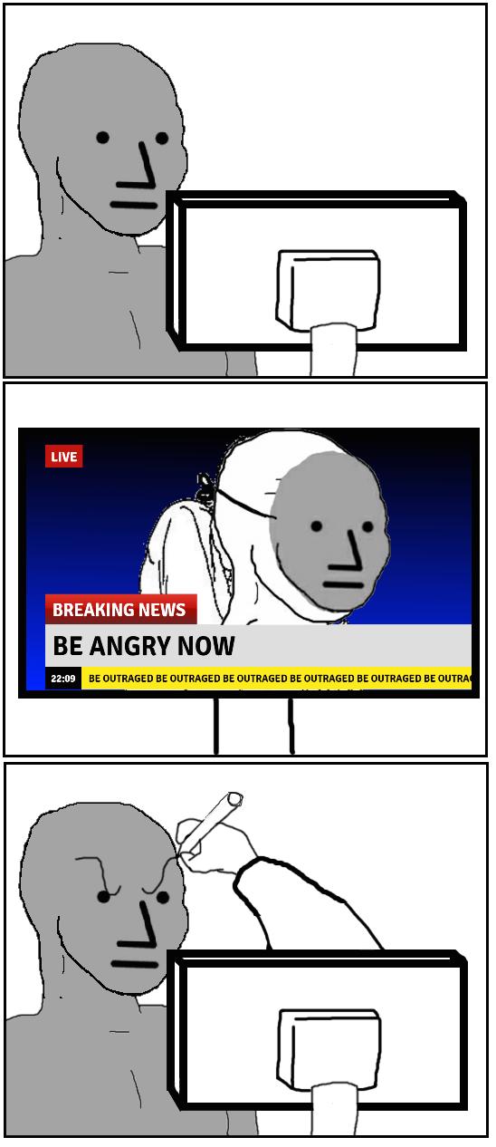 Npc Angry : angry, Angry, Wojak