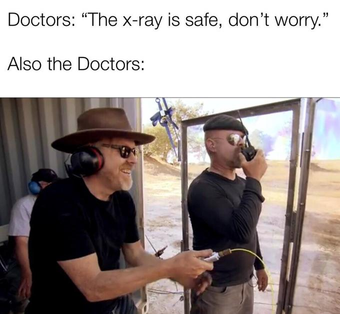 the x ray is