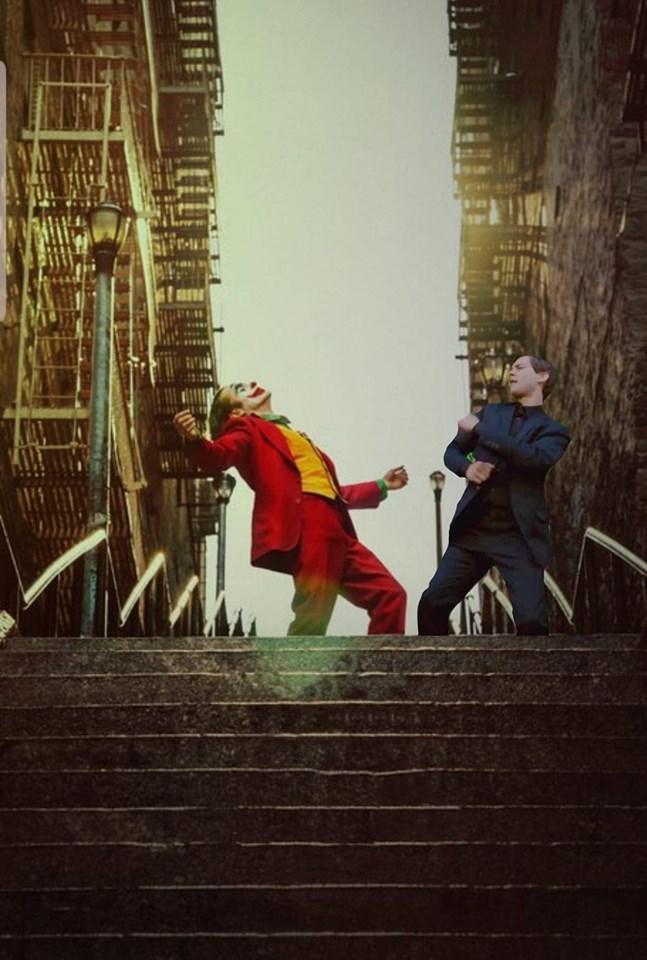 Joker Dancing Meme : joker, dancing, Joker, Peter, Parker, Dancing