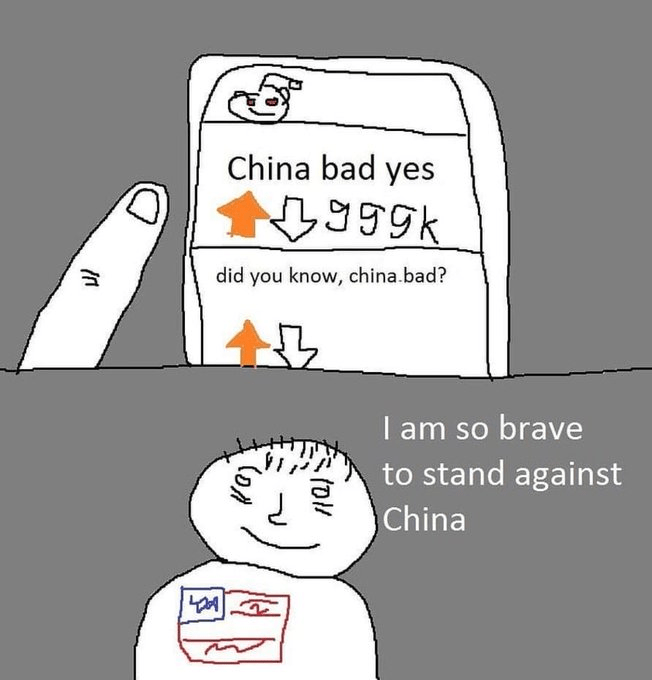China bad yes | China | Know Your Meme