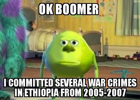 Image result for OK Boomer meme