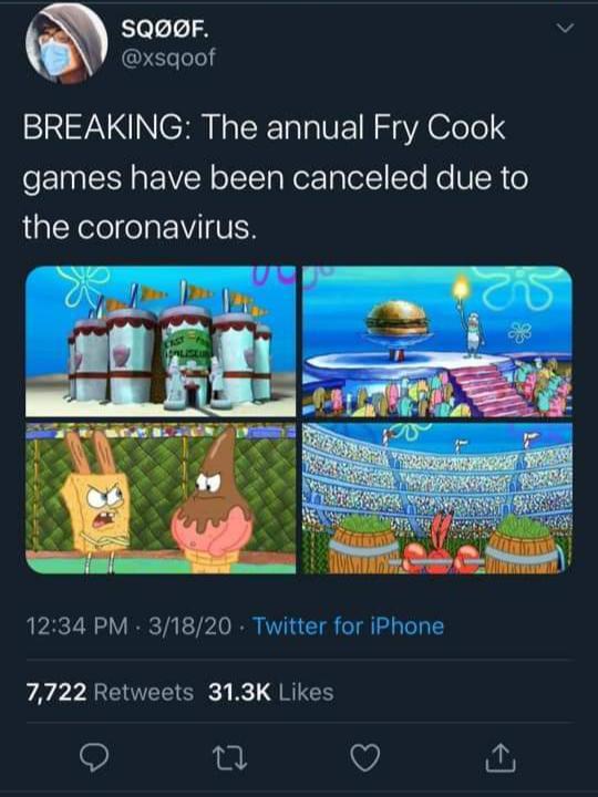 Spongebob Being Canceled : spongebob, being, canceled, Another, Great, Event, Canceled..., /r/BikiniBottomTwitter, SpongeBob, SquarePants