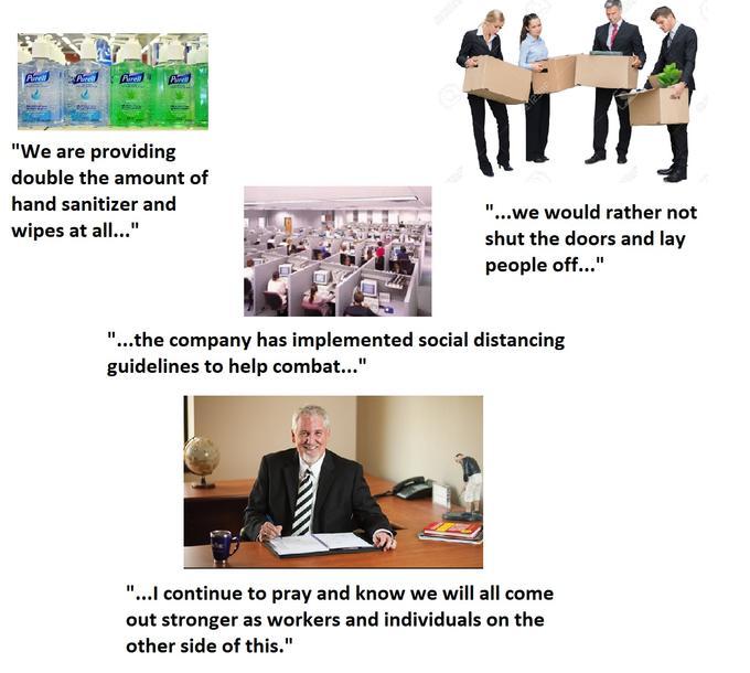 Gratuit Essential Vs Non Essential Employee Meme | HumourLa