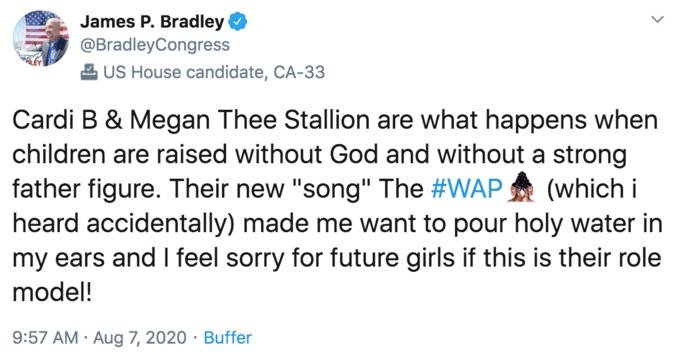 James Bradley | WAP | Know Your Meme