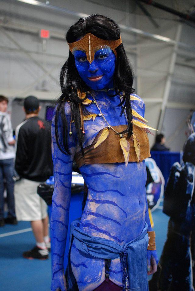 Blue Costume Cosplay