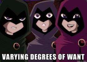 VARYING DEGREES OF WANT made on img Fictional character Cartoon Superhero