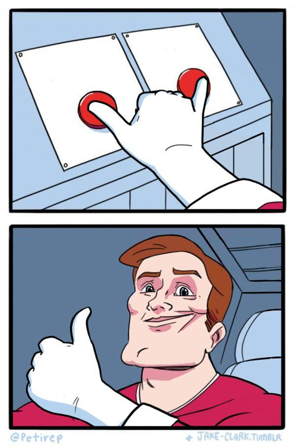 Hitting Button Meme : hitting, button, Daily, Struggle