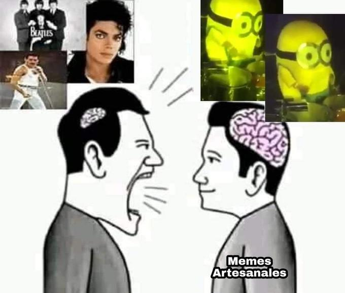 BAES Memes Artesanales Head Ear Nose Human Cheek People Hairstyle Chin Forehead Eyebrow White Facial expression Jaw Interaction Black hair Temple Neck Black Animation Conversation Gesture