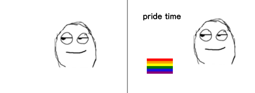 pride time Smile Rectangle Gesture Font Happy Parallel