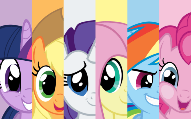Image result for the mane six