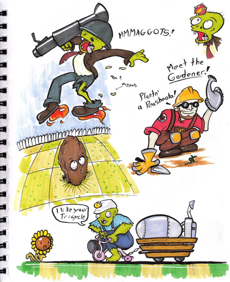 plants vs zombies fortress