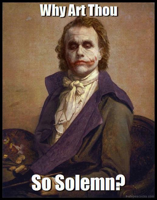 Why So Serious Memes - Home | Facebook
