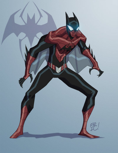 the amazing spider bat