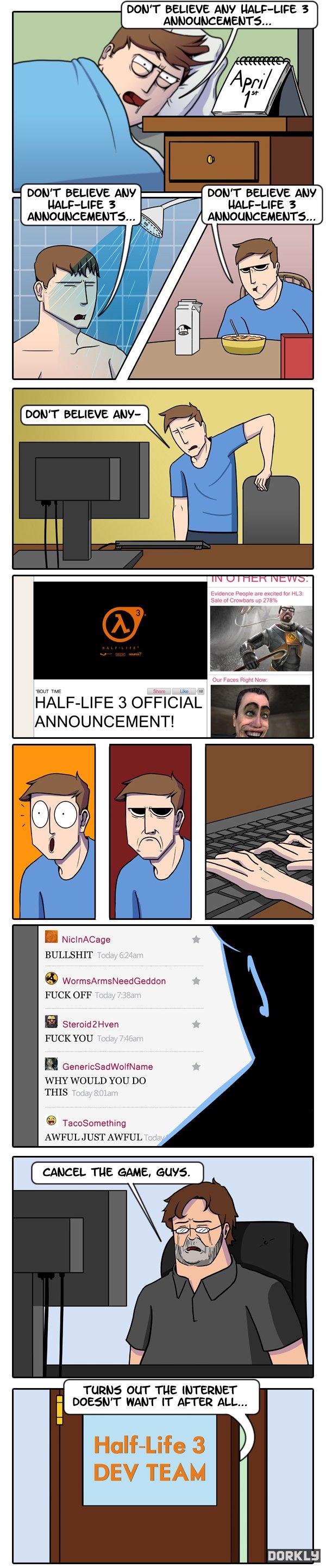 Hl3 Confirmed : confirmed, Believe, Half-Life, Confirmed
