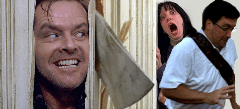 In the way guy The Shining | In The Way Guy | Know Your Meme