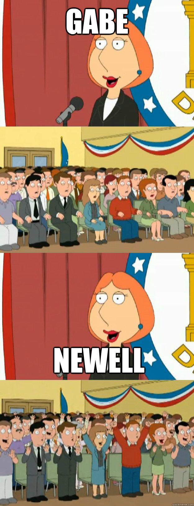 Lois Family Guy Meme : family, Griffin's, Speech, Newell