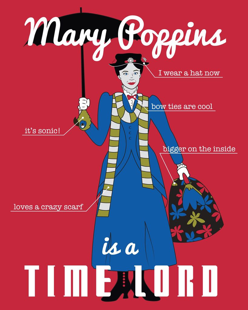 What Is A Time Lord : Poppins, Infograph