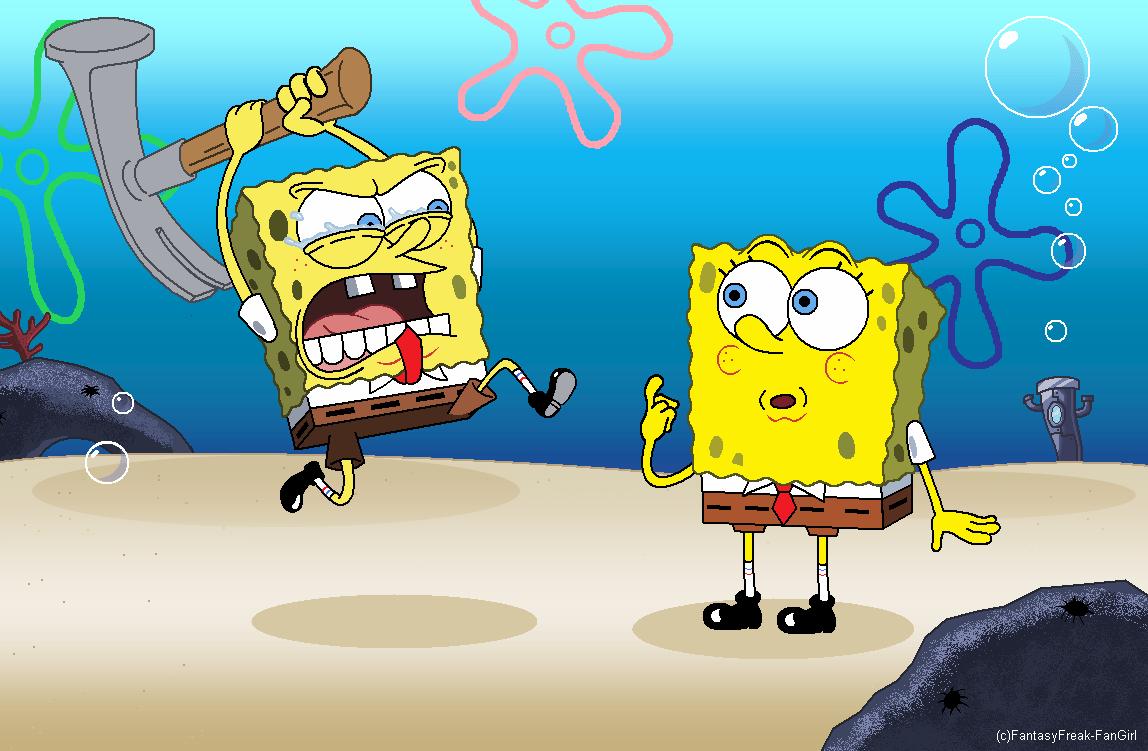 old vs new spongebob