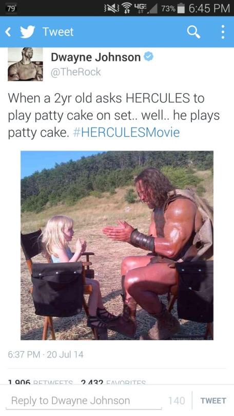 How To Play Pattycake : pattycake, Hercules, Patty, Set..., Well., Plays, Dwayne, Rock