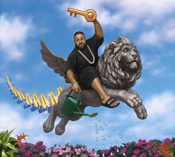 khaled carries the key