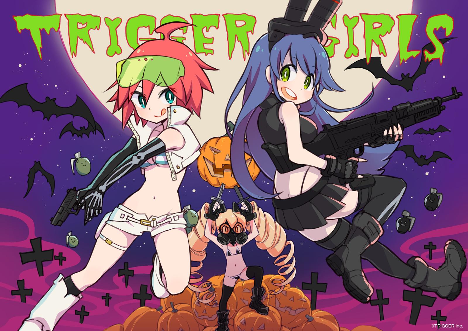 trigger girls studio trigger