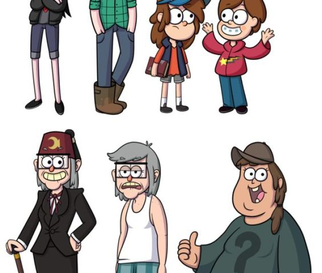 Dipper Pines Mabel Pines Grunkle Stan People Clothing Cartoon Human Behavior Male Fictional Character