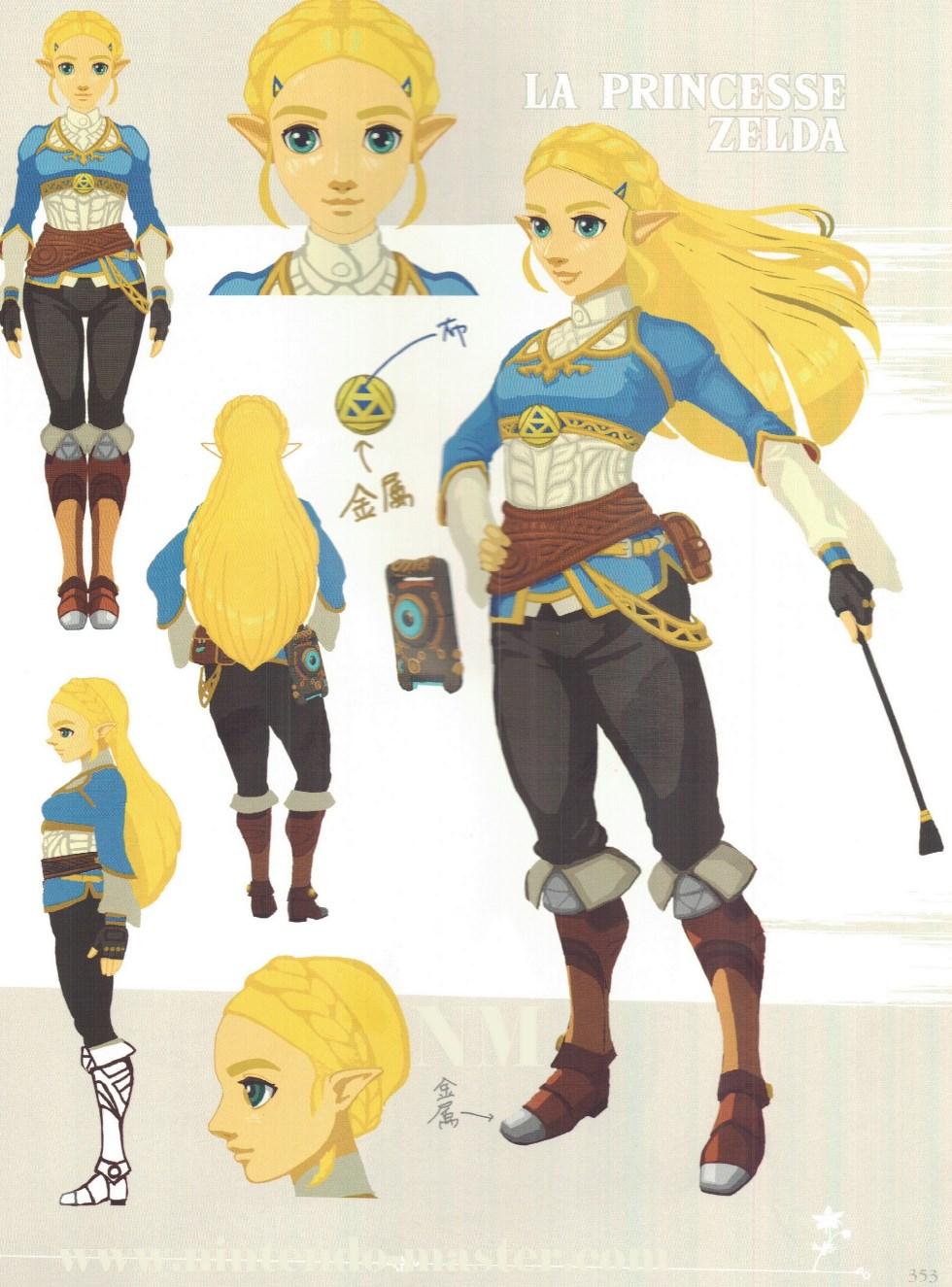 Princesse Zelda Breath Of The Wild : princesse, zelda, breath, Concept, Redesigned, Zelda, Legend, Zelda:, Breath