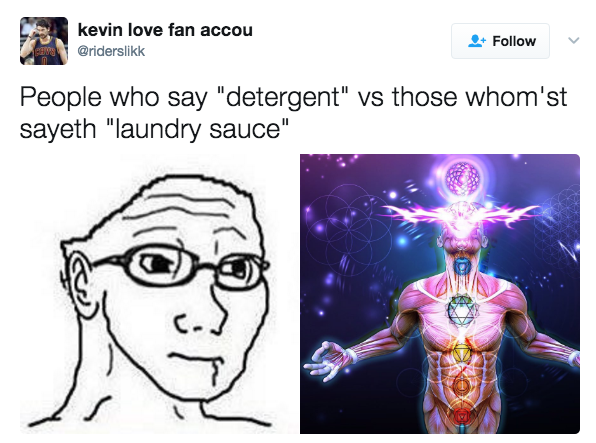 those whomst say laundry