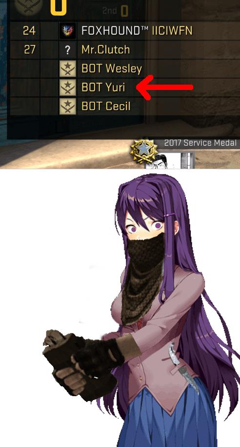 Yuri Ddlc Memes : memes, Yuri-Strike:, YOURSELF., Literature