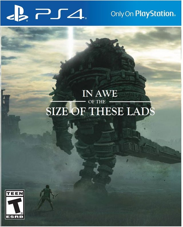 Image result for absolute unit shadow of the colossus