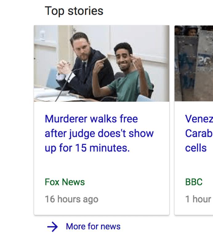 murderer walks free legally