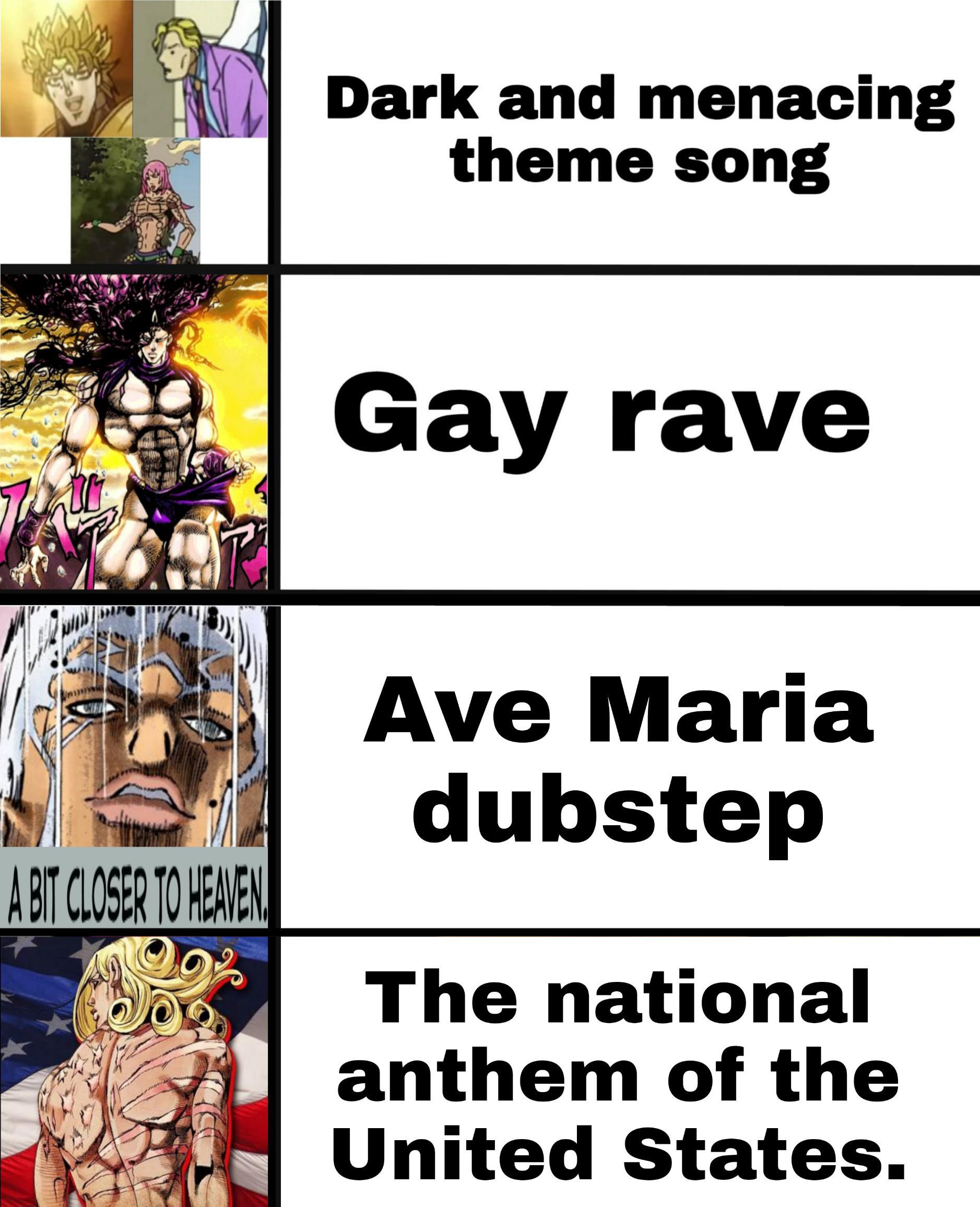 Jojo Song Meme : Theme, Songs, Villains, /r/ShitPostCrusaders/, JoJo's, Bizarre, Adventure