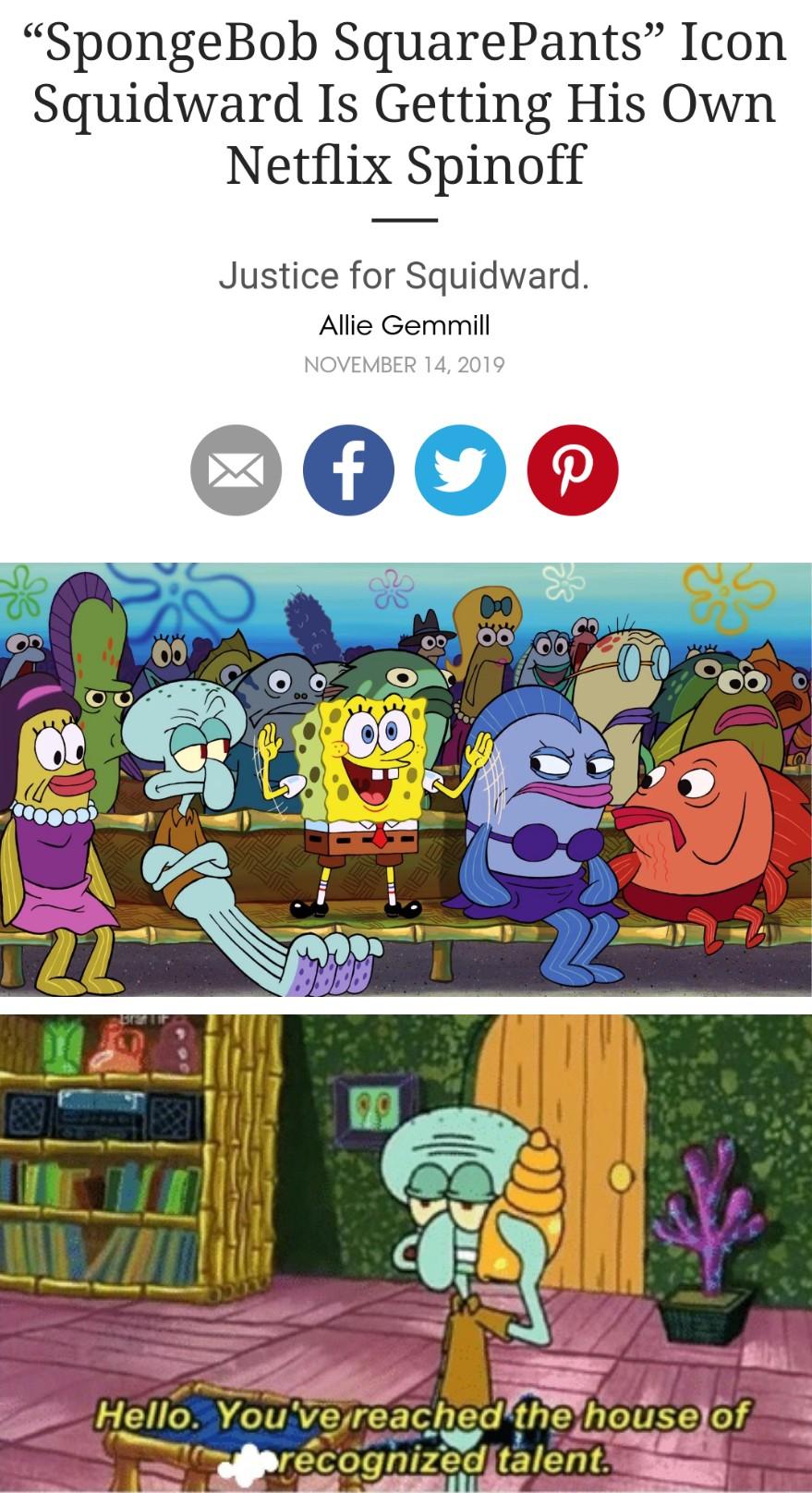 Squidward Spinoff : squidward, spinoff, Squidward!, /r/BikiniBottomTwitter, SpongeBob, SquarePants
