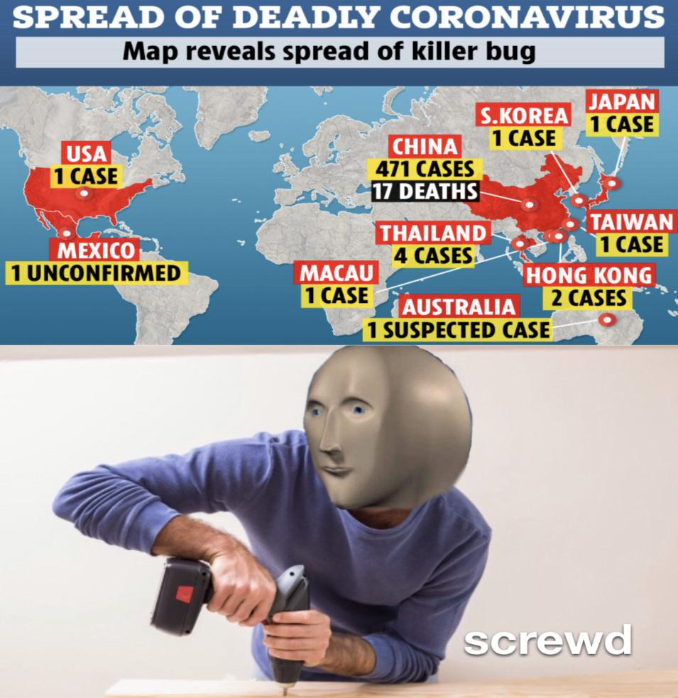 screwd | 2019-20 Coronavirus Outbreak | Know Your Meme
