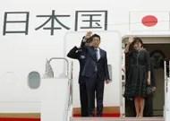 Japanese Shinzo Abe visits Paris