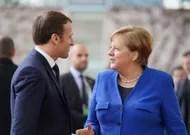 Emmanuel Macron at Angela Merkel to discuss the European recovery