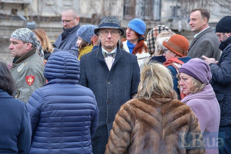 На открытии памятника Вертинскому
