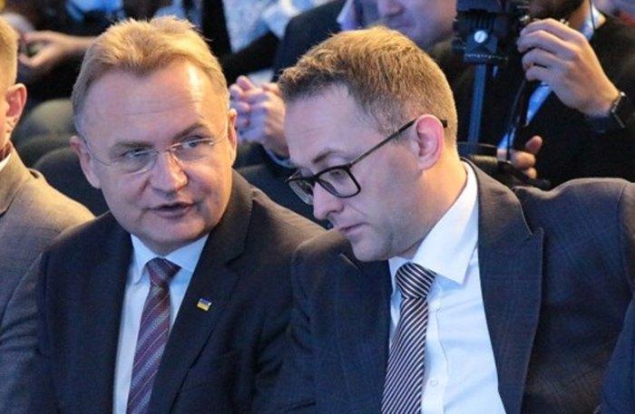 Андрій Садовий і Маркіян Мальський
