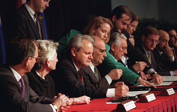 Negotiations on the Dayton Agreement, 1995