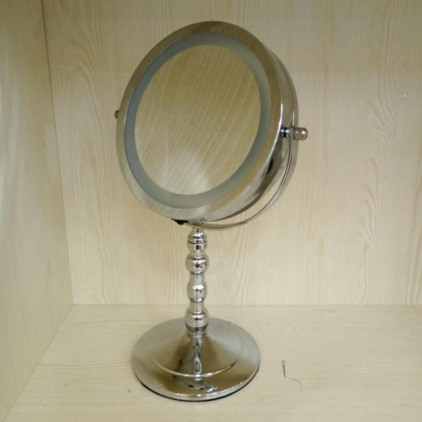 Led Makeup Mirror 7.5 Lighted Vanity 1x 10x Magnifying Double