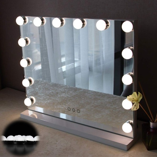Hollywood Style Vanity Mirror Lights 10 Makeup Led