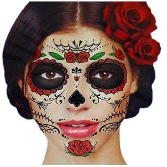 Compra Mascara Antifaz Calaveratatuaje Temporal Catrina Mexicana Dia
