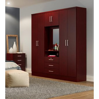 Compra Ropero Closet Bertolini 588 7 Puertas 3 Cajones