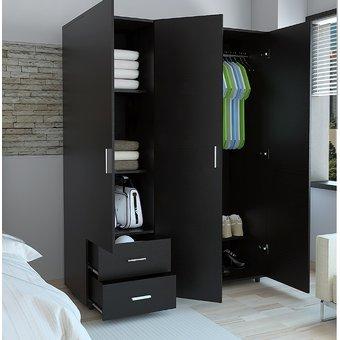 Dassel closet de 3 puertas paara recmara contiene dos