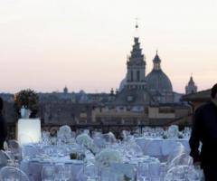 Terrazza panoramica a Roma con vista sul Pantheon  Grand Hotel de la Minerve  Foto 1