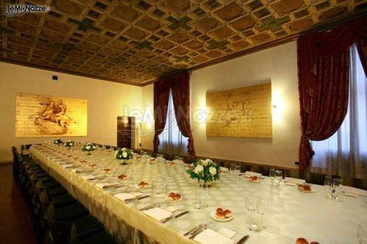 Sala Quadri per il matrimonio a Roma  Hotel Columbus